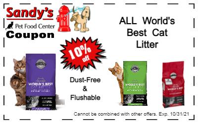 Dust Free & Flushable